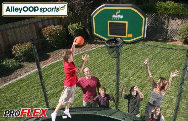 AlleyOOP ProFlex Trampoline Basketball Set